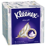 Kleenex Ultra Facial Tissue, Ultra Soft, White