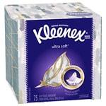 Kleenex Ultra Facial Tissue, Ultra Soft- 75 sh