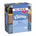 Kleenex Facial Tissue, 3 Pack