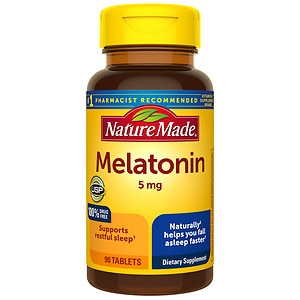 Nature Made Melatonin, 5mg, Tablets- 90 ea