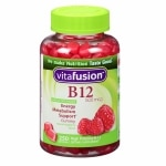 Vitafusion Energy B12, 500mcg, Gummy Vitamins, Very Raspberry