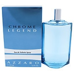 Chrome Legend by Azzaro Eau de Toilette Spray 4.2oz