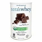 tera's whey Organic Whey Protein, Fair Trade Dark Chocolate- 12 oz