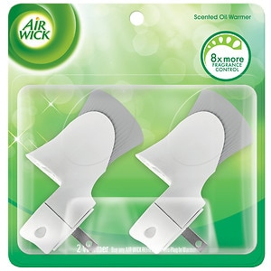 Air Wick Scented Oil Warmers- 2 ea