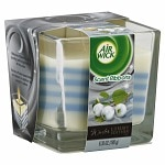 Air Wick Scent Ribbons Candle, White Berries & Cool Silk