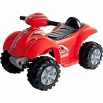 Lil' Rider Battery Powered Raptor 4 Wheeler Ages 2-4, Red- 1 ea