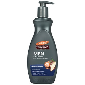 Palmer's Cocoa Butter Formula Men's Body & Face Lotion with Pump- 13.5 fl oz