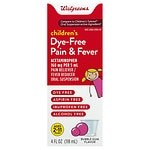 Walgreens Children's Pain Relief Suspension Liquid, Bubblegum- 4 oz
