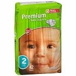 Walgreens Premium Baby Diapers, Size 2, 42 ea