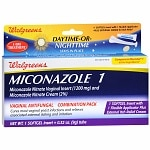 Walgreens Miconazole 1 Vaginal Antifungal Combination Pack, Day or Night- 1 ea