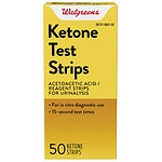 Walgreens Ketone Test Strips