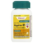 Walgreens Aspirin Low Dose Enteric Coated Tablets 81 mg