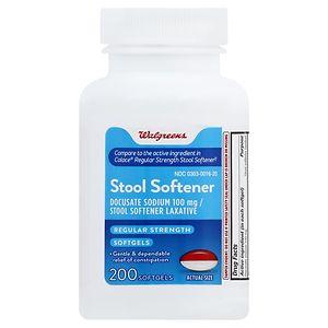 Walgreens Stool Softener Softgels, 200 ea