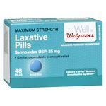 Walgreens Laxative Pills Maximum Strength- 48 ea