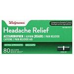 Walgreens Extra Strength Headache Relief Quick Gel Gelcaps
