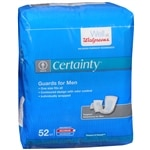 Walgreens Certainty Bladder Protection Guards for Men, Maximum