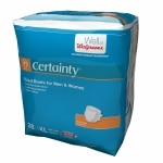 Walgreens Certainty Fitted Briefs Maximum Absorbency, Extra Large
