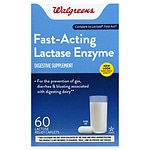 Walgreens Lactose Fast Acting Relief Caplets