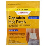 Walgreens Capsaicin Hot Patches Topical Analgesic