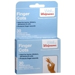 Walgreens Finger Cots, Assorted- 30 ea