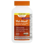 Walgreens Wal-Mucil Fiber Laxative/Supplement Capsules- 320 ea