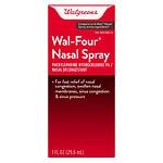 Walgreens Wal-Four Nasal Decongestant Spray- 1 oz