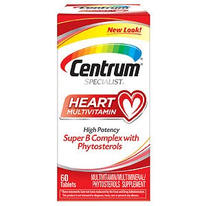 Centrum Specialist Complete Multivitamin: Heart, Tablets