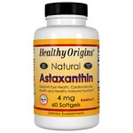 Healthy Origins Astaxanthin 4mg, Softgels- 60 ea