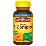 Nature Made Stress B Complex with Zinc, Tablets- 75 ea