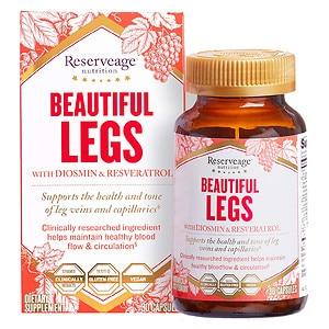 ReserveAge Organics Beautiful Legs, Advanced Diosmin Complex- 30 ea