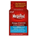 Schiff MegaRed Extra Strength 100% Pure Omega-3 Krill Oil, 500mg, Softgels