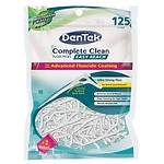 DenTek Complete Clean Floss Picks Easy Reach, Mouthwash Blast- 125 ea
