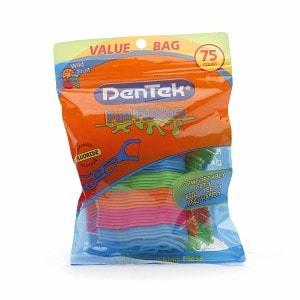 DenTek Kids Fun Flosser Floss Picks- 75 ea