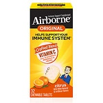 Airborne Chewable Tablets, Citrus- 32 ea