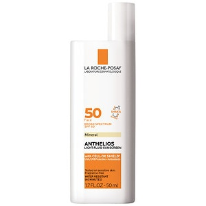 La Roche-Posay Anthelios Mineral Ultra Light Sunscreen Fluid, SPF 50- 1.7 oz