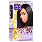 Dark and Lovely Relax & Color Same Day Semi-Permanent Haircolor, 391 Radiant Black- 1 kit