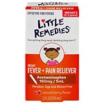 Little Remedies Infant Fever/Pain Reliever Acetaminophen,