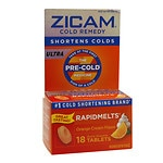 Zicam Ultra Cold Remedy Bi-Layer RapidMelts Quick Dissolve