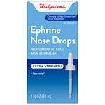 Walgreens Ephrine Nose Drops- 1 fl oz
