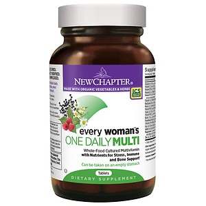 New Chapter Every Woman's One Daily Multivitamin, Tablets- 24 ea