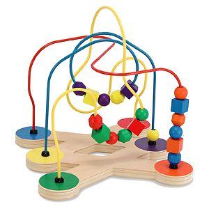 Melissa and Doug Classic Toy Bead Maze 2+- 1 ea