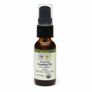 Aura Cacia Organic Skin Care Oil, Restoring Rosehip- 1 fl oz