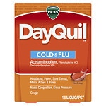 Vicks Dayquil Multisymptom Cold & Flu Relief LiquiCaps, Non-Drowsy