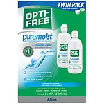Opti-Free PureMoist Disinfecting Solution, 2 Pack