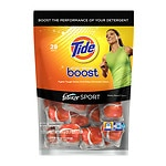 Tide Boost Stain Release with Febreze Sport In-Wash Laundry Booster, Victory Boost- 28 ea