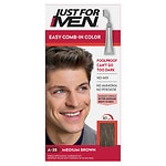 Just For Men AutoStop Foolproof Haircolor, Medium Brown A-35