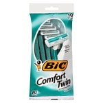 BIC Comfort Twin Sensitive for Men, Disposable Shaver- 10 ea