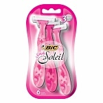 BIC Simply Soleil for Women, Disposable Shaver- 6 ea