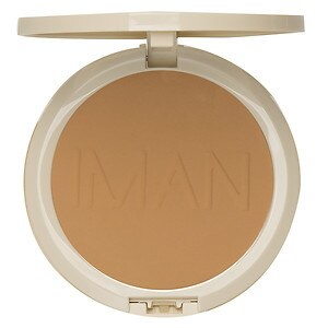 IMAN Perfect Response Oil Blotting Pressed Powder, Light/Medium