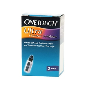 OneTouch Ultra Control Solution, Vials- 2 ea